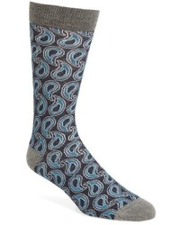 Ted Baker London Paisley Crew Socks