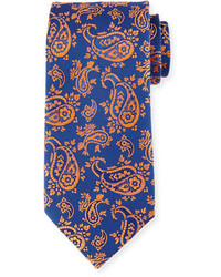 Charvet Floral Paisley Silk Tie
