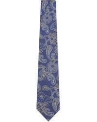 Eton Large Paisley Silk Tie