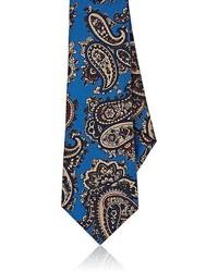Sartorio Paisley Silk Faille Necktie