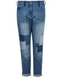 Dorothy Perkins Bellfield Patched Slim Boyfriend Jeans