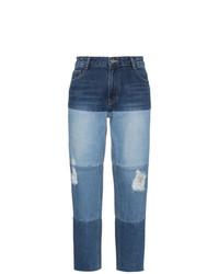 High waist multi wash boyfriend jeans medium 7704268