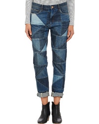 Etoile Isabel Marant Isabel Marant Toile Patchwork Dillon Jeans