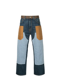 Junya Watanabe MAN Junya Watanabe Comme Des Garcons Man X Carhatt Patchwork Straight Leg Jeans