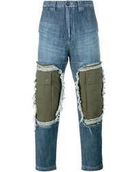 Miharayasuhiro Mihara Yasuhiro Patchwork Jeans