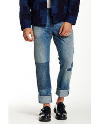 Closed Patch Slim Fit Jean