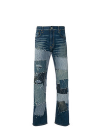 Junya Watanabe MAN Patchwork Embroidered Jeans