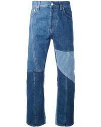 Alexander McQueen Patchwork Jeans
