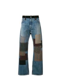 Junya Watanabe MAN Patchwork Straight Leg Jeans