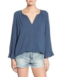 Challis peasant blouse medium 806099