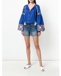 Tassel detail blouse medium 7895097