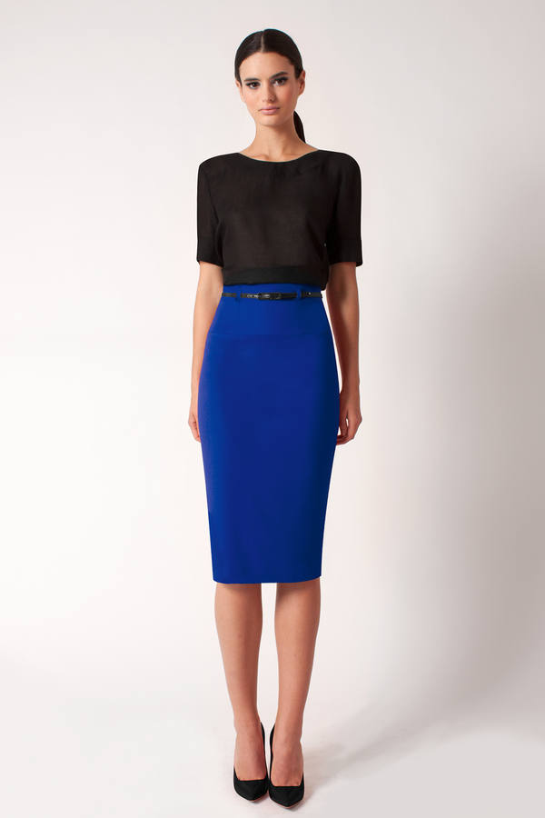 lowest price online store promotion $230, Black Halo High Waist Pencil Skirt Online