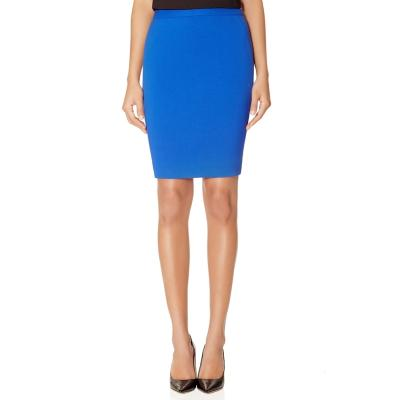 The Limited Slant Seamed Pencil Skirt Blue 8 | Where to buy & how ...