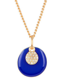 Nordstrom Rack Enamel Pave Discs Pendant Short Necklace