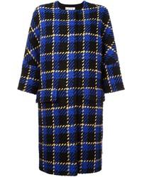 Marni Boucle Plaid Coat