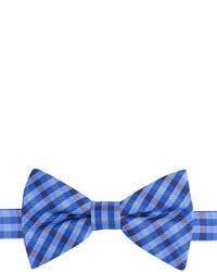 Izod Bleacher Plaid Pre Tied Bow Tie