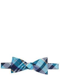 Original Penguin Tuttle Plaid Silk Bow Tie
