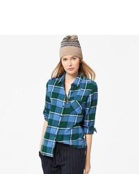Uniqlo Flannel Check Long Sleeve Shirt
