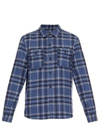 A.P.C. Girl Checked Wool Blend Shirt