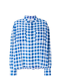 Natasha Zinko Patterned Oversized Shirt
