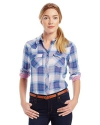 Plaid annie shirt medium 8037