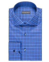 Stefano Ricci Plaid Dress Shirt