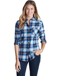 Stines favorite flannel shirt one pocket boyfriend medium 392945