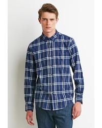 21men 21 Plaid Flannel Shirt