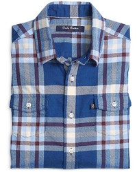 Brooks Brothers Flannel Tartan Sport Shirt