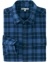 Heavy Flannel Long Sleeve Shirt