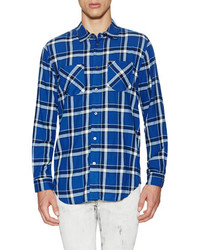Marc by Marc Jacobs Toto Plaid Flannel Sportshirt