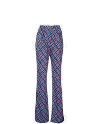 Marni Tartan Print Trousers