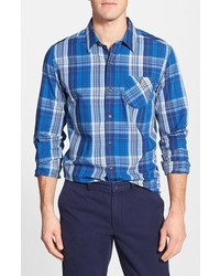 Timberland Allendale River Slim Fit Plaid Sport Shirt