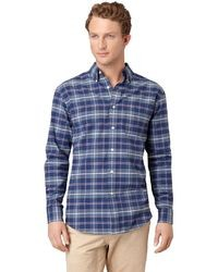 Arrow Oxford Plaid Casual Button Down Shirt