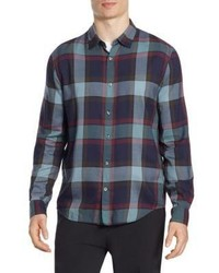 Vince Buffalo Plaid Coastal Button Down Shirt