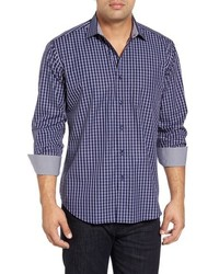 Classic fit plaid sport shirt medium 844045