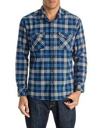 Quiksilver Everyday Flannel Shirt Long Sleeve