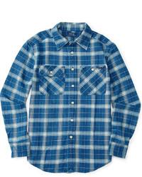 Ralph Lauren Little Boys Plaid Long Sleeve Workshirt