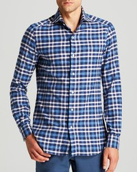 Marcus Collection Eidos Marcus Plaid Flannel Button Down Shirt