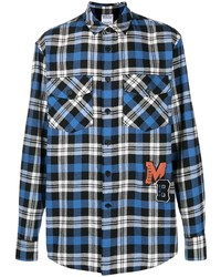Marcelo Burlon County of Milan Mb College Check Shirt