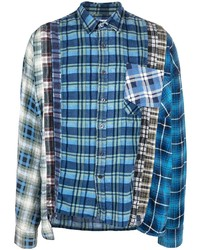 Needles Mixed Plaid Shirt