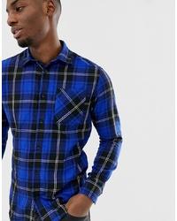 Jack & Jones Originals Checked Shirt In Slim Fit