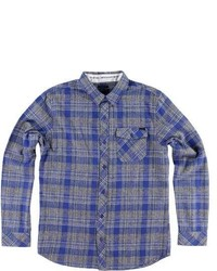 O'Neill Palisade Flannel Charcoal Flannel Shirts