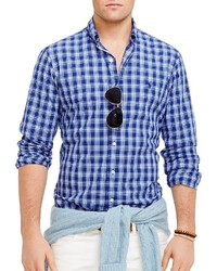 Polo Ralph Lauren Plaid Poplin Button Down Shirt Regular Fit