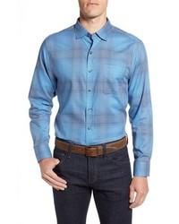 Pocora plaid sport shirt medium 8801550