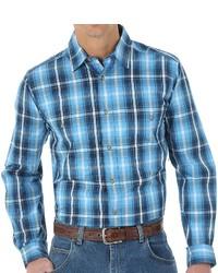 Wrangler Rugged Wear Plaid Shirt