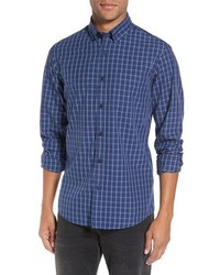 Shop slim fit plaid sport shirt medium 963095