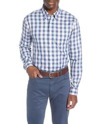johnnie-O Swain Classic Fit Plaid Shirt