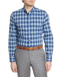 Nordstrom Men's Shop Tech Smart Regular Fit Walter Plaid Shirt