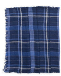 Club Monaco Double Face Linen Scarf